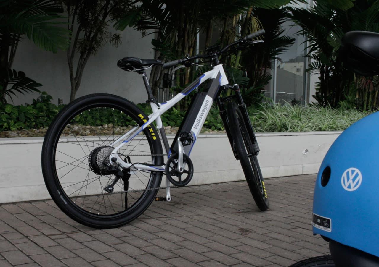 bike wolks - Golf GTE e outras apostas de mobilidade elétrica urbana da Volskwagen