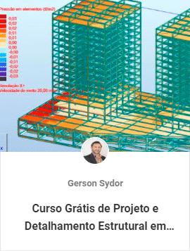 curso gratis de projeto e detalhamento estrutural - Aulas Grátis