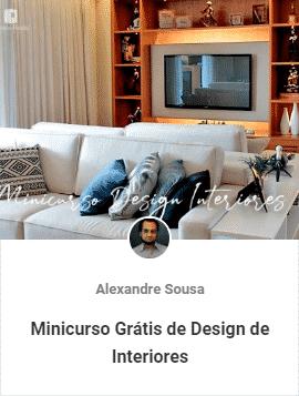 minicurso gratis de design de interiores - Aulas Grátis