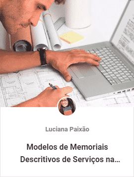 modelos de memoriais descritivos - Aulas Grátis