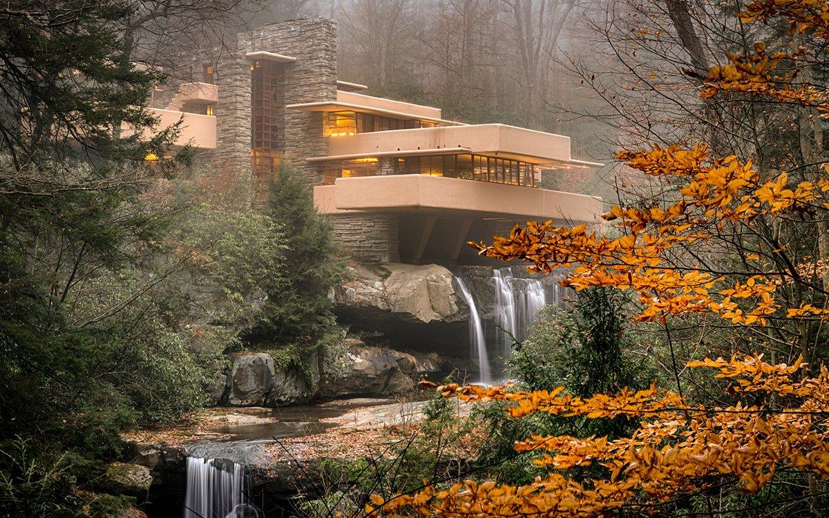 Casa da Cascata Frank Lloyd Wright