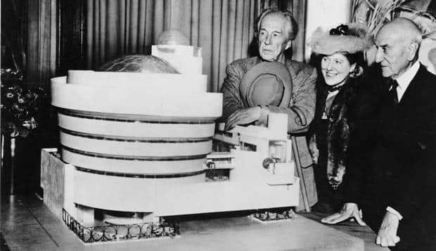Frank Lloyd Wright, Museu Guggenheim, NY