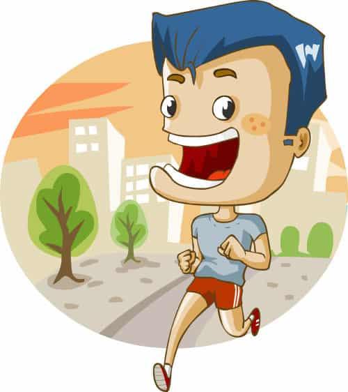 Ilustração de exercício físico - Cuidados que devemos ter trabalhando de casa