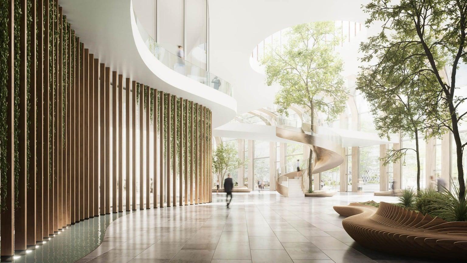 Visão de uma área externa e uma pessoa - Arquiteto: promova de maneira inteligente seus serviços com a visualização 3D
