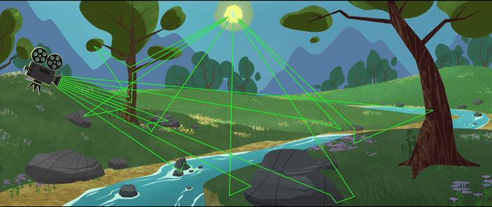 como funciona ray tracing - D5 Render - nova solução para renderizações de alto nível com Ray Tracing