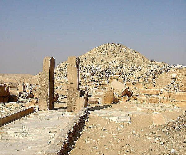 pirâmide de unas - A arquitetura das pirâmides do Egito