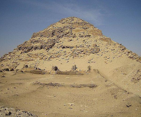 pirâmide egípcia - A arquitetura das pirâmides do Egito