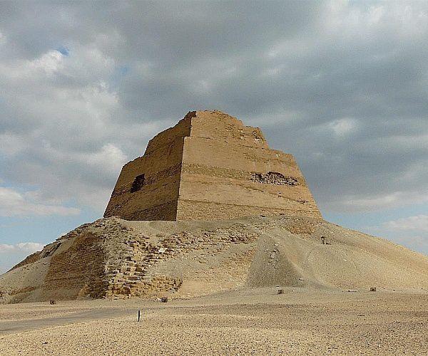 pirâmide meidum - A arquitetura das pirâmides do Egito