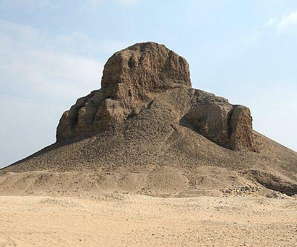 pirâmide negra - A arquitetura das pirâmides do Egito