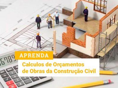 Cálculos de Orçamentos de Obras da Construção Civil