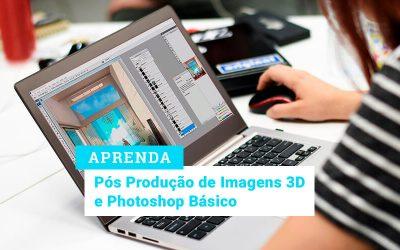Curso Pós Produção Imagens 3D e Photoshop Básico