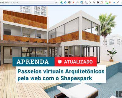 Curso Shapespark | Passeio Virtual via WEB