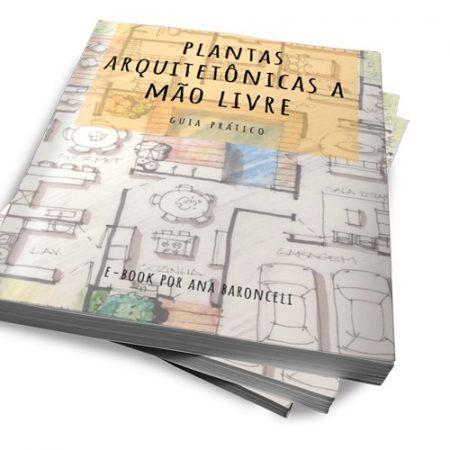 E-Book Plantas Arquitetônicas Humanizadas a mão livre