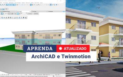 Curso de ARCHICAD 22 e 23 + Twinmotion 2020