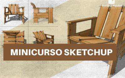 Modelagem Cadeira Kraft com Sketchup