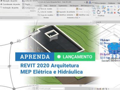 Pacote Revit 2020 com MEP Elétrica e Hidráulica